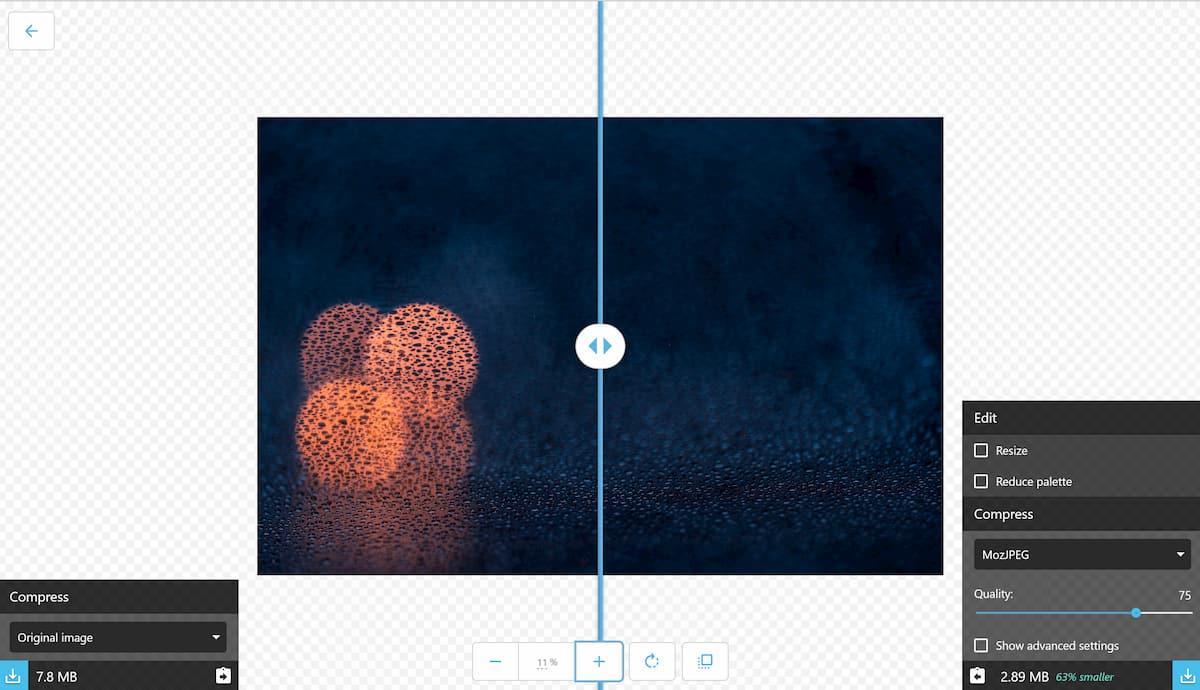 squoosh herramienta para optimizar imágenes