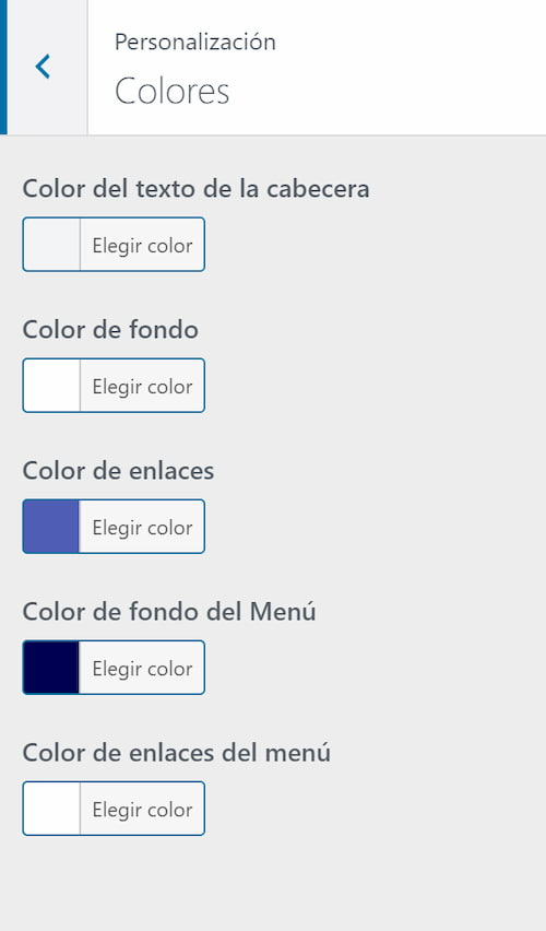 Personalizar colores de Orbital Theme